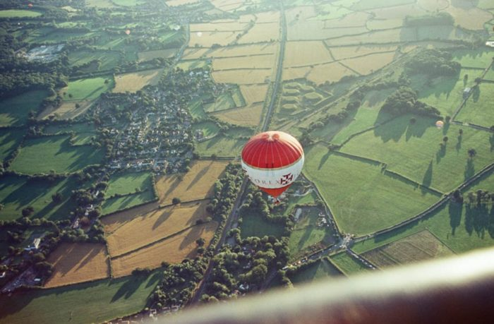 Bristol hot air balloon rides