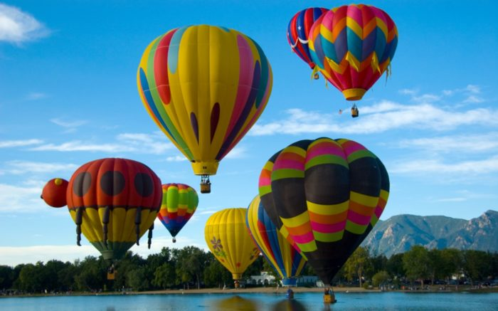 Colorado Springs, Colorado hot air balloon rides