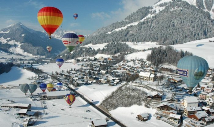 Gstaad hot air balloon rides