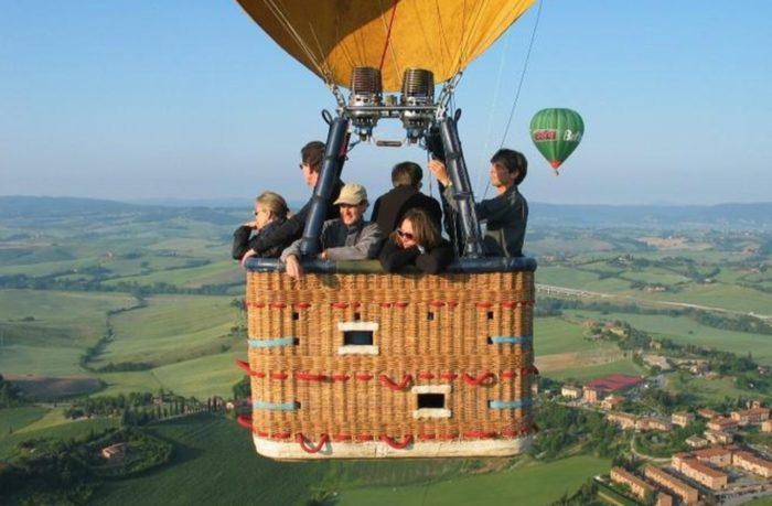 Lazio, Italy hot air balloon