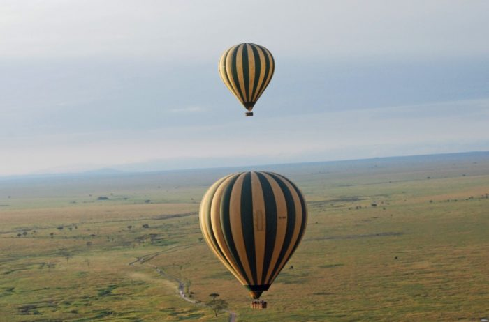 Serengeti, Tanzania hot air balloon