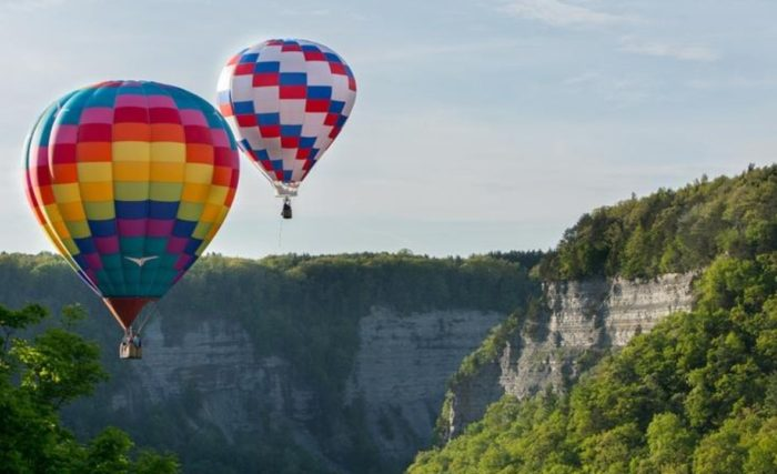letchworth state park hot air balloon rides
