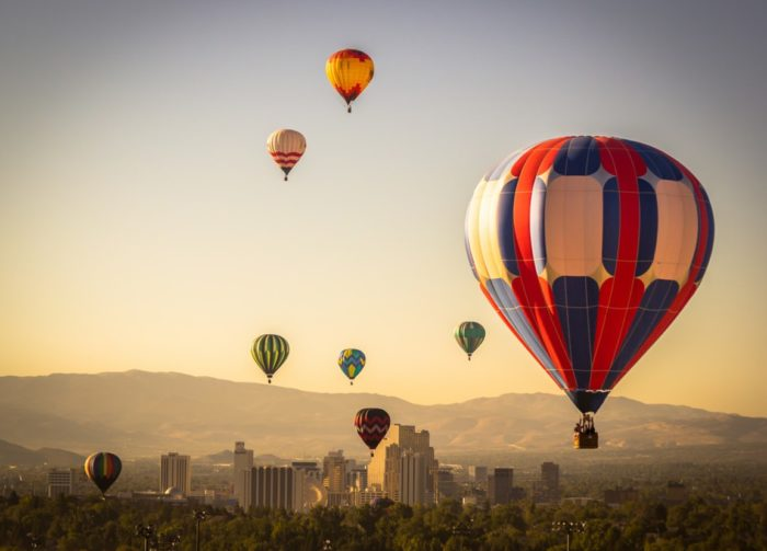 reno hot air balloon rides