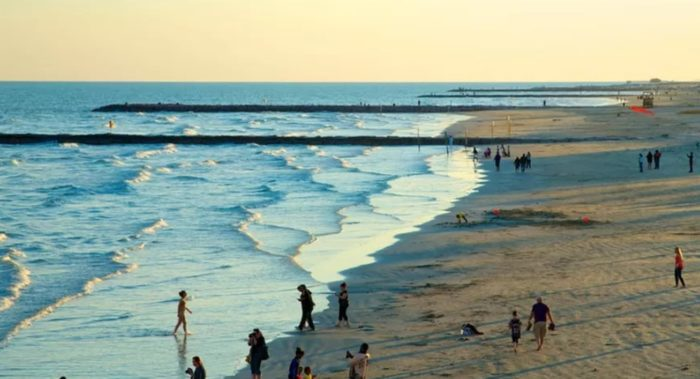 Galveston Island East Beach texas beaches