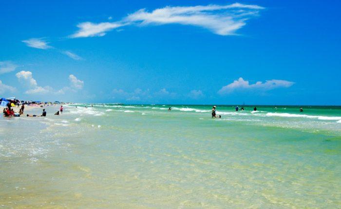 Mustang Island Beach