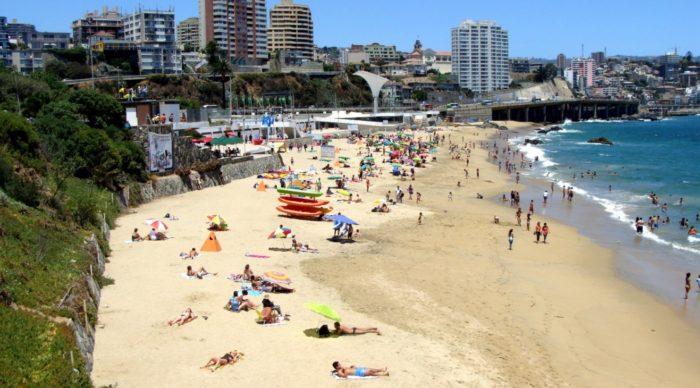 Vina Del Mar beache