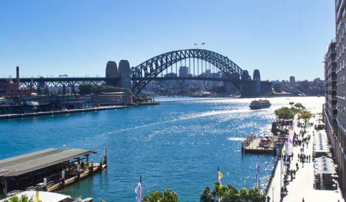 Sunshine in Sydney Harbour