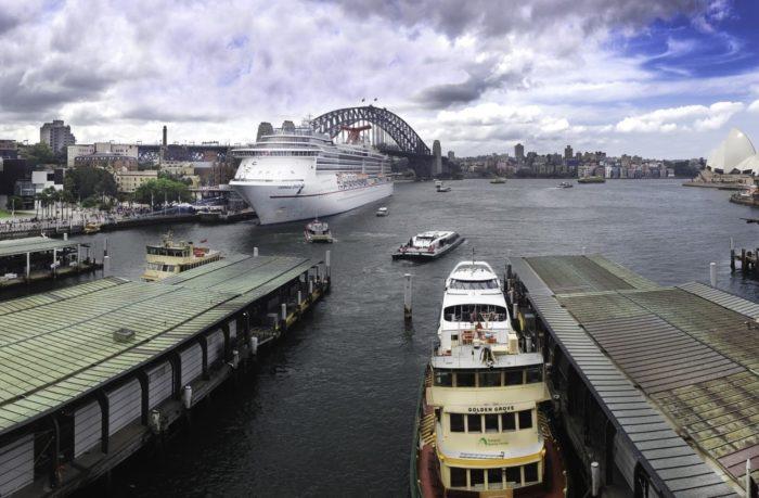 spectacular sydney harbour