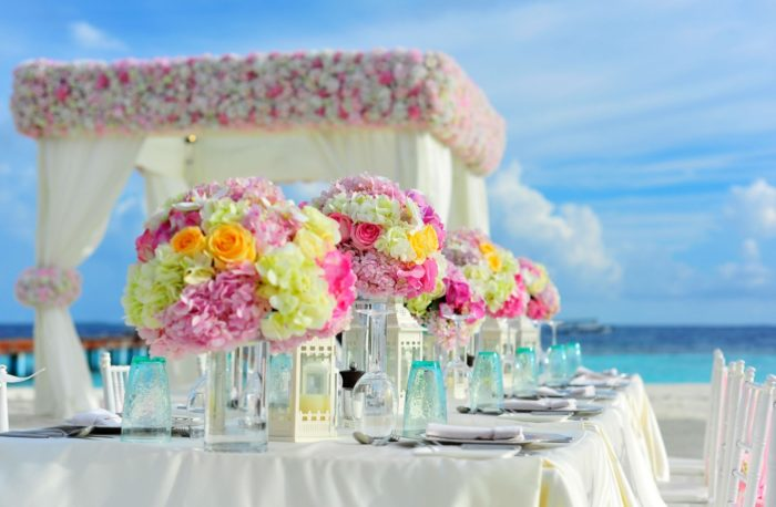 destination wedding rentals