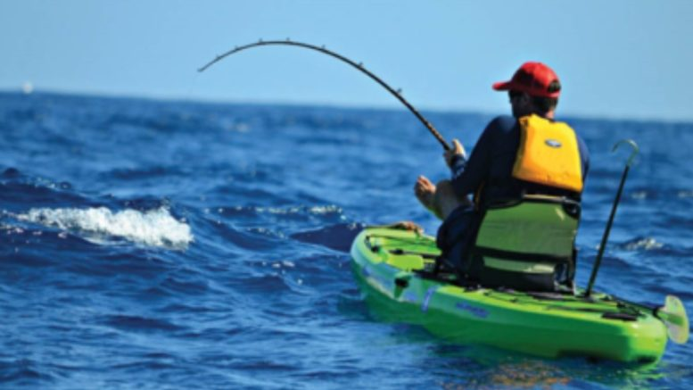 kayaking for fishing