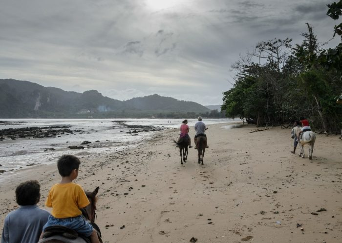 Horse Riding At Ao Nam Mao