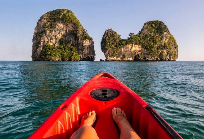 Kayaking Around Krabi