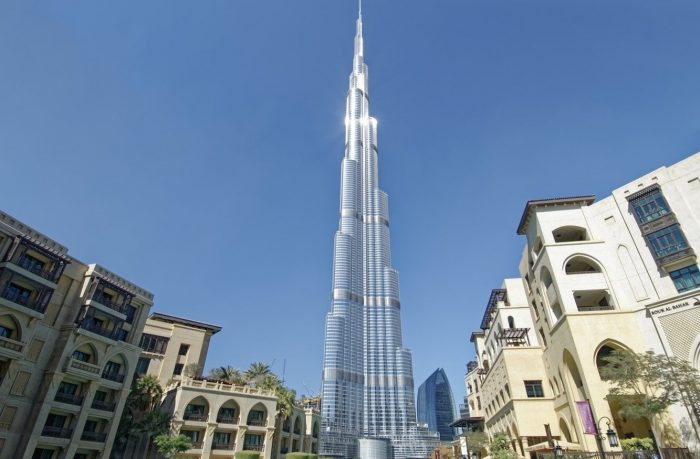 Burj Khalifa one of the best tourist attractions in Dubai